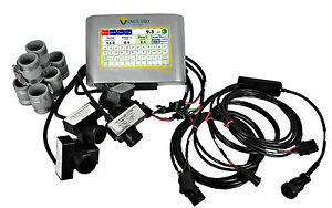 Vanguard Population Monitor Kit For John Deere 15 20ft Grain Drill Seed Sensors