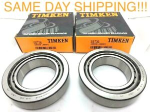2pc Timken Set36 Differential Bearing Set For Btc294 Btc9001zr Lm603049 lm603012