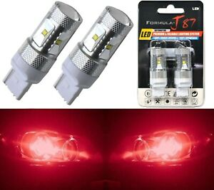 Canbus Error Free Led Light 7440 Red Two Bulbs Rear Turn Signal Replace Lamp