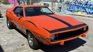 Amc Javelin 1973 Amx Hot Rod Street Rod Rat Rod
