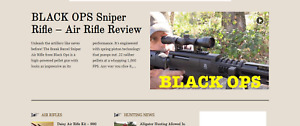 Established Profitable Hunting Rifles Online Business Turnkey Website