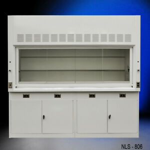 8 Chemical Laboratory Fume Hood With General Storage Cabinets e1 090