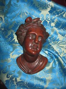 Victorian Figural Mount For Pier Mirror Or Bed 1870s Herter Era