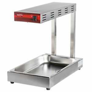 Avantco Infrared Food Pan Warmer Fry Dump Station Heat Lamp Stand Strip Calrod
