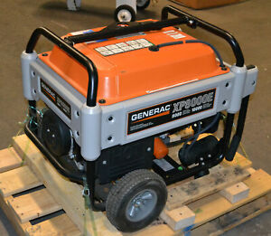 Generac Xp8000e 8kw 10kw Commercial Gas Generator Minimal Hours Used