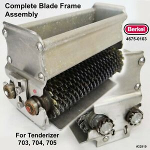 Berkel 4675 0103 Complete Blade Frame Assembly For Berkel 703 704 705 Tenderizer