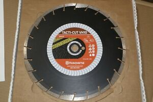 5 Pack Husqvarna Tacti cut Vh10 14 Green Concrete Asphalt Diamond Saw Blade