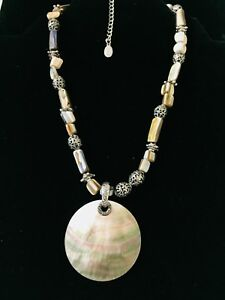 COOKIE LEE SHELL NECKLACE $18.00