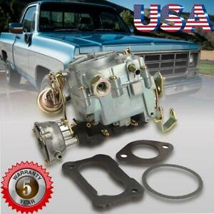 Carb Carburetor Type Rochester Style 2gc 2 Barrel For Chevrolet 350 5 7l 70 1980