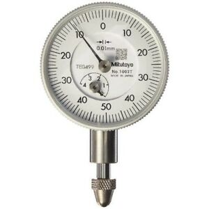 Mitutoyo 1003t Compact Dial Gauge Measurement Range 0 4mm Japan With Tracking