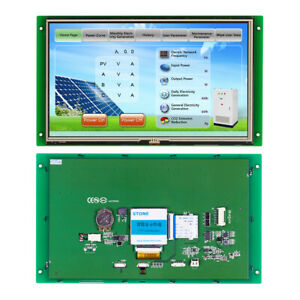 12 1 Hmi Lcd Wtih Touch Screen program serial Interface For Industrial System
