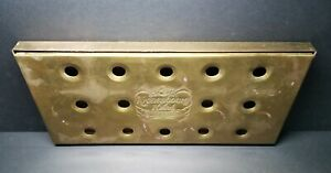 Vintage Kronenbourg 1664 Strong Lager Beer Brass Bar Tap Drip Plate