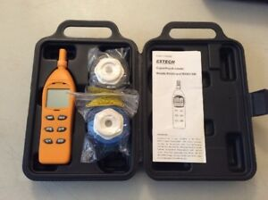 Extech Rh305 Humidity Testers Hygrometers Style psychrometer Damaged