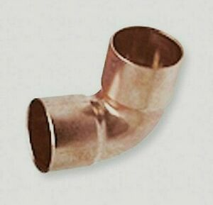 Nibco 90 Elbow Wrot Copper Ftgs 1 1 4in 1 3 8 5p055 case Of 25