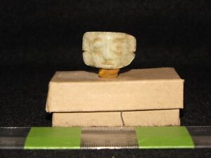 Pre Columbian Greenstone Mixtec Necklace Pendant Bead L P Clas 1200 1500 Ad