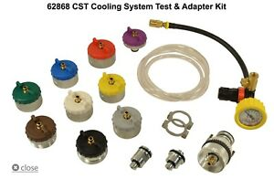 Hickok Waekon Cooling System Test And Adapter Master Kit With Quick Disconnect