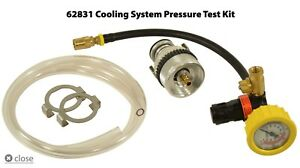 Hickok Waekon Cst Cooling System Pressure Test Kit 62831 With Quick Disconnect