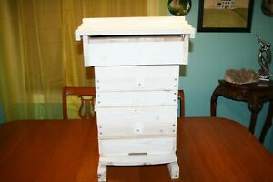 New Bee Hive Keeping Wooden House Frames Roof Box