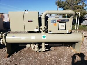 Trane 180 Ton Water Cooled Screw Chiller