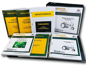 Service Manual For John Deere Model 60 620 630 Tractor Sm 2008