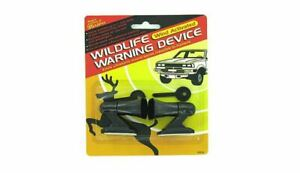 12 Deer Alert Animal Wildlife Whistles Warning Devices 1 Dozen 12 2 Packs