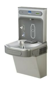 Elkay Ez H2o Drinking Fountain Ezs8wssk Lustrous Satin stainless Steel