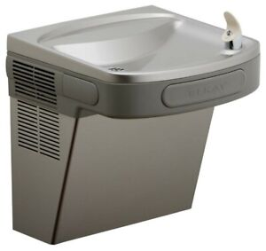 Elkay Drinking Fountain Ezs8l Light Gray Granite
