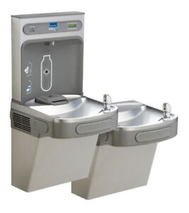 Elkay Ez H2o Drinking Fountain Ezstl8wssk Lustrous Satin stainless Steel