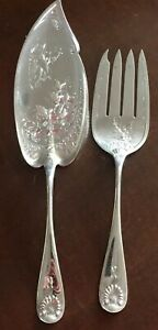 Sheeve Crump Low Sterling 2pc Fish Serving Set