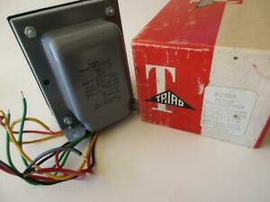R 205a Triad Transformer Primary 117v Solid State Rectifier Power 3 Secondaries