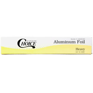 Choice 24 X 1000 Food Service Heavy duty Aluminum Foil Roll