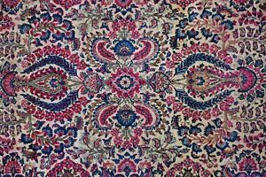 Old Persian Rug With Nice Colors 4x7