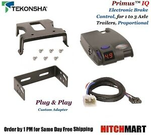 Primus Iq Trailer Brake Control Adapter For Lx470 570 4runner Tacoma Tundra