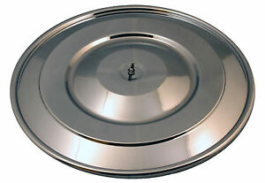 84 85 Saleen Chrome Air Cleaner Lid 1984 1985 Mustang Cal Custom 18 Inch