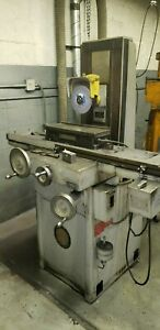 Reid Hand Surface Grinder 6 X 12 With Perm Mag Chuck