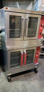Vulcan Vc4gd 10 Commercial Double Deck Gas Convection Oven yb3