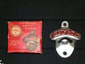 STARR X Coca-Cola Bottle Opener - NEW / VINTAGE with Box  Brown Mfg - NEW