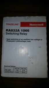 Honeywell Ra832a1066 120v Switching Relay W transformer