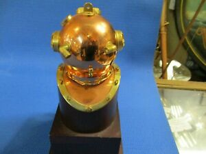 Vintage Model U S Navy Diving Helmet