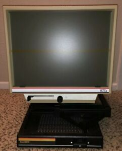 Anacomp Multiprodux Division Datamate 875a Microfiche Film Reader Magnifier