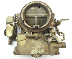 1965 1969 Amc Jeep Carb 2bbl H2 2209 Holley R3262 3181312 Carburetor 327