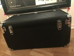 1929 1930 1932 Original Packard Motor Co Leather Luggage Trunk Rare Excellent