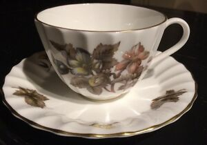 Dorchester Z 2818 Fine Bone China Cup Saucer By Royal Worcester England