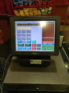 Panasonic Js 790ws Pos Touchscreen Register System With Printer