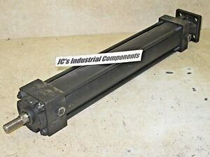 Hanna 2 Bore X 12 Stroke Pneumatic Cylinder Rear Pivot With Mount