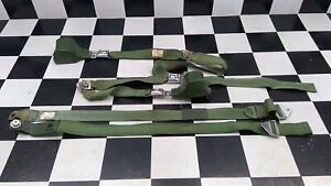 1970 1971 Ford Ranchero Gt Seat Belt Set Oem Used Green
