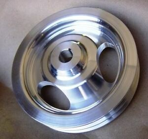 Pontiac Gto Catalina 2 2 Bonneville Two Groove Power Steering Pulley Billet
