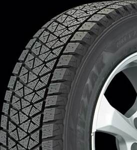 2x P245 65r17 Bridgestone Blizzak Dm V2 New Snow Tires