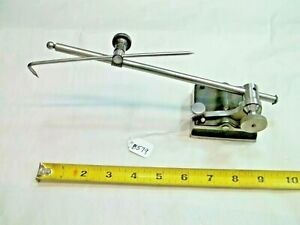 Surface Gage Vintage Machinist Inspection Surface Gage 9 1 2 Long Mast