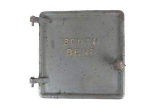 South Bend 14 1 2 16 16 24 Lathe Bell Housing Front Door Panel W Pins